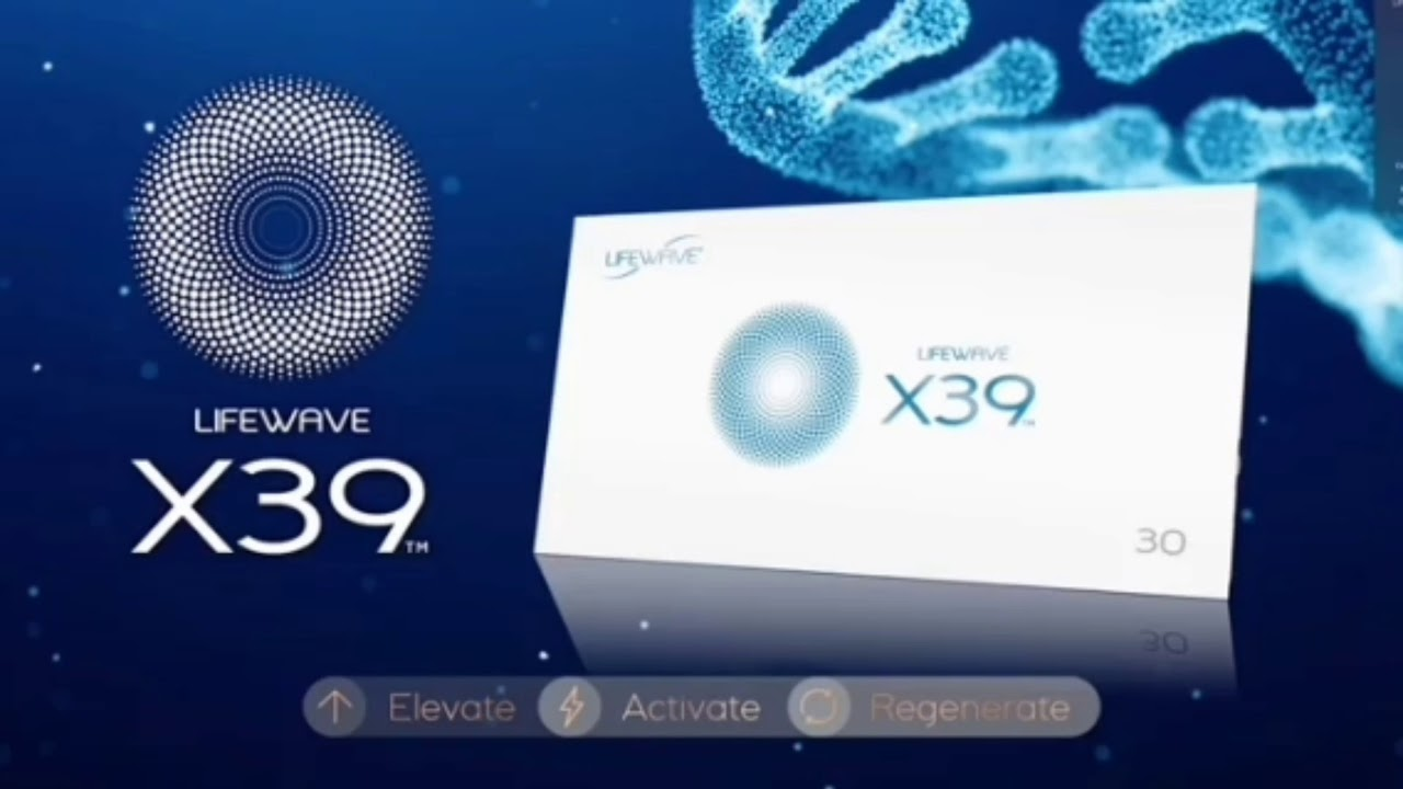 Lifewave X39*Stem Cell Activation Technology